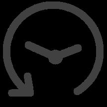 icone redução de tempo