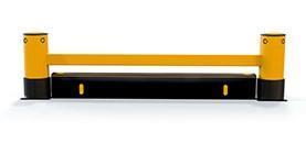 eFlex RackEnd Simples com iFlex ForkGuard