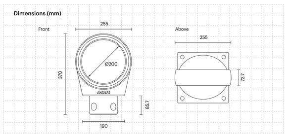 especificação técnica Placas de sinalização